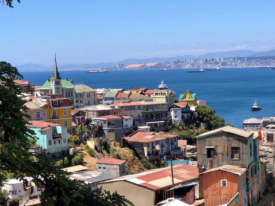 Valparaiso- Chile's City of Artists